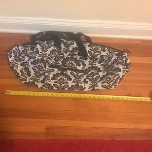 Vera Bradley fold up duffel bag